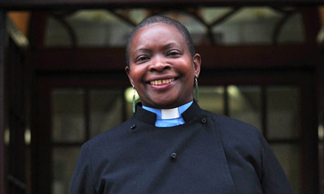 Vicar Rose Hudson-Wilkin was widely expected to become the CofE's first woman bishop until the vote.
