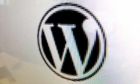 Wordpress logo screen