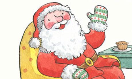 Jessica Ahlberg Father Christmas