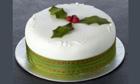 Tesco Finest Iced Rich Fruit Cake
