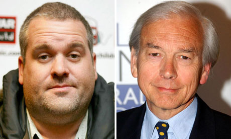 Chris Moyles and John Humphrys