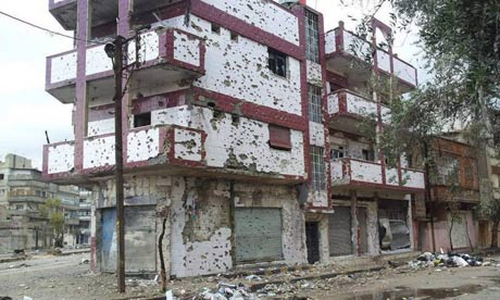 Syria unrest Homs