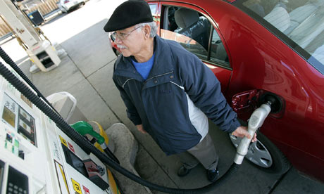 US gas prices back over $4 a gallon