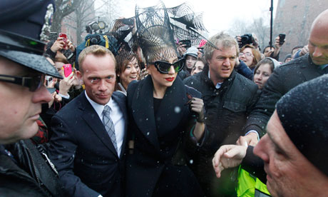Lady Gaga at Harvard