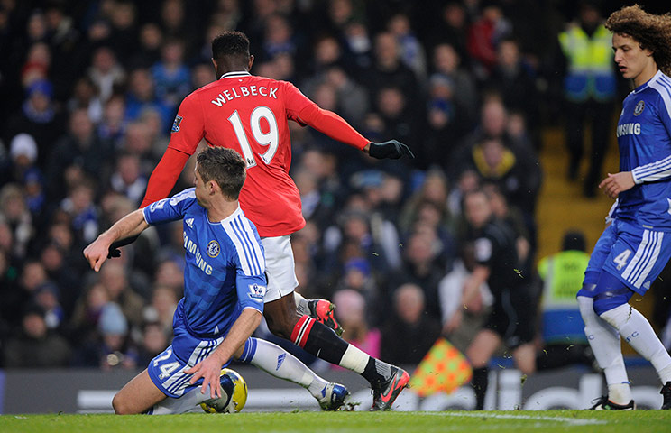 Chelsea Vs Manchester City 2012: World News In Pictures