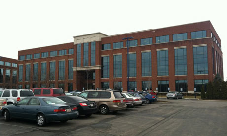 Santorum HQ building in Ohio