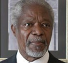 Kofi Annan held two sets of talks with Syria's Bashar al-Assad