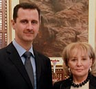 Bashar al-Assad and Barbara Walters
