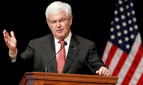 Newt Gingrich in Biloxi, Mississippi