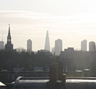 The skyline of the City of London. Photograph: Paul Owen