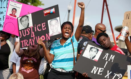 Trayvon Martin rally in Florida