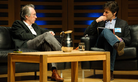 Ian McEwan at the Guardian Open Weekend