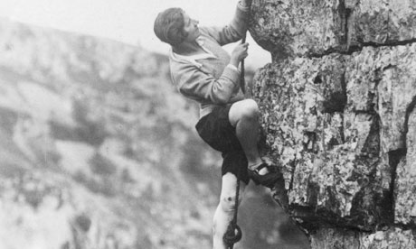 for the female mountaineering pioneers it was an uphill