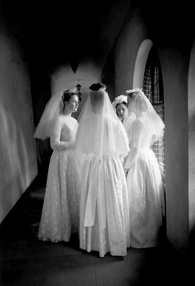 Eve Arnold S Brides Of Christ Finds New Home At V Amp A Art