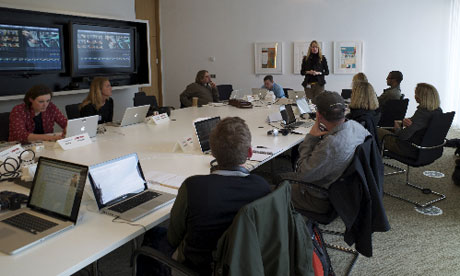 teaching video literacy at the Guardian