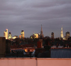The London skyline. Photograph: Paul Owen