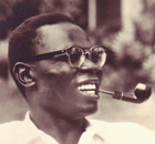 Barack Obama's father, Barack Obama Sr, in the 1960s
