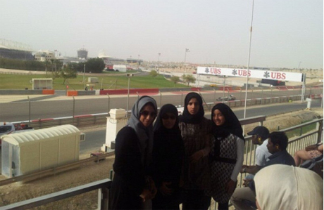 Bahrain women GP protesters