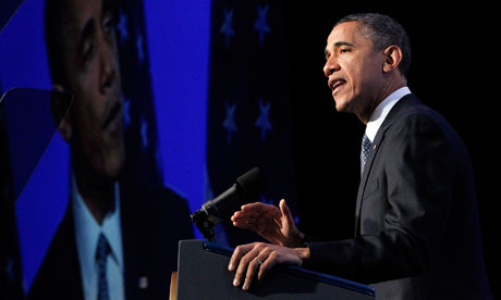 Obama delivers remarks at the American Society of News Editors (ASNE) Convention in Washington