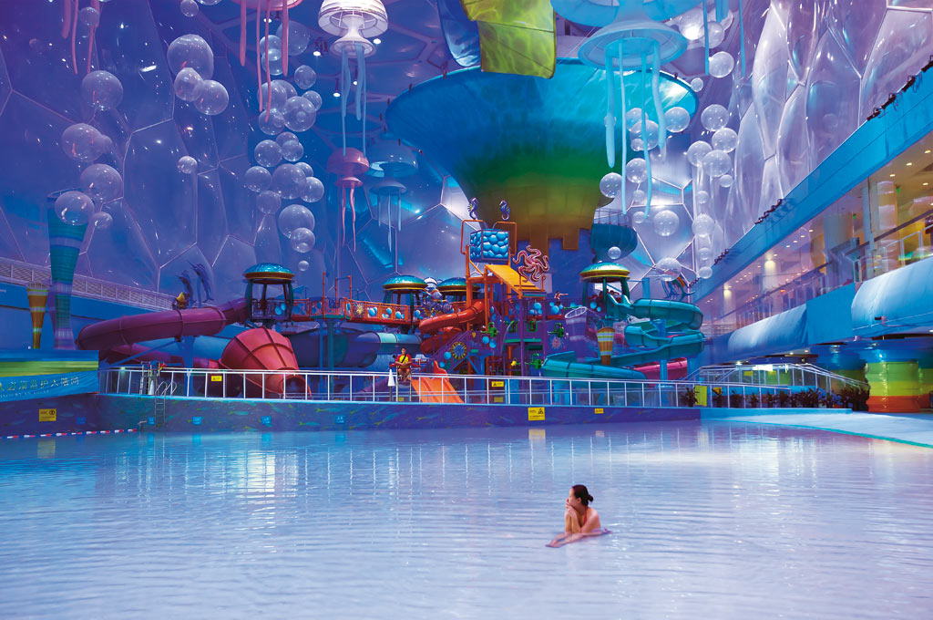Big picture happy magic water park by matthew - London swimming pools with slides ...