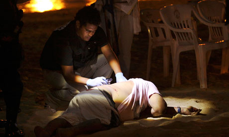 Body of man in Acapulco