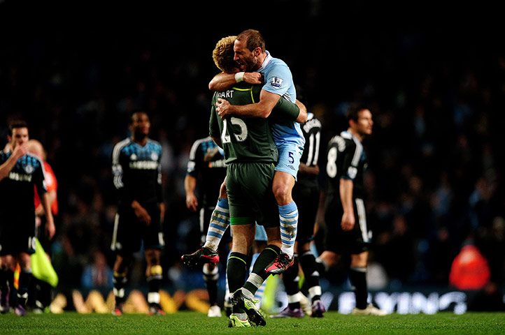 Chelsea Vs Manchester City 2012: Manchester City's Season - In Pictures