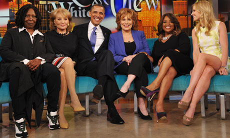 barack obama the view