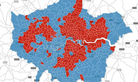London mayoral election interactive map