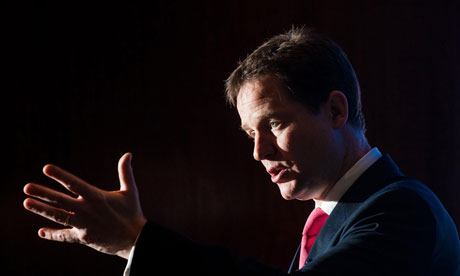 Clegg condemns employment  proposals