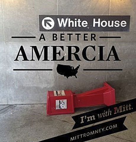 Amercia Romney iPhone app