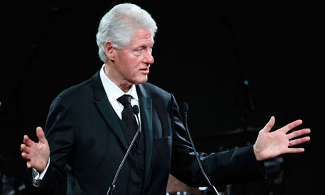 bill clinton wisconsin