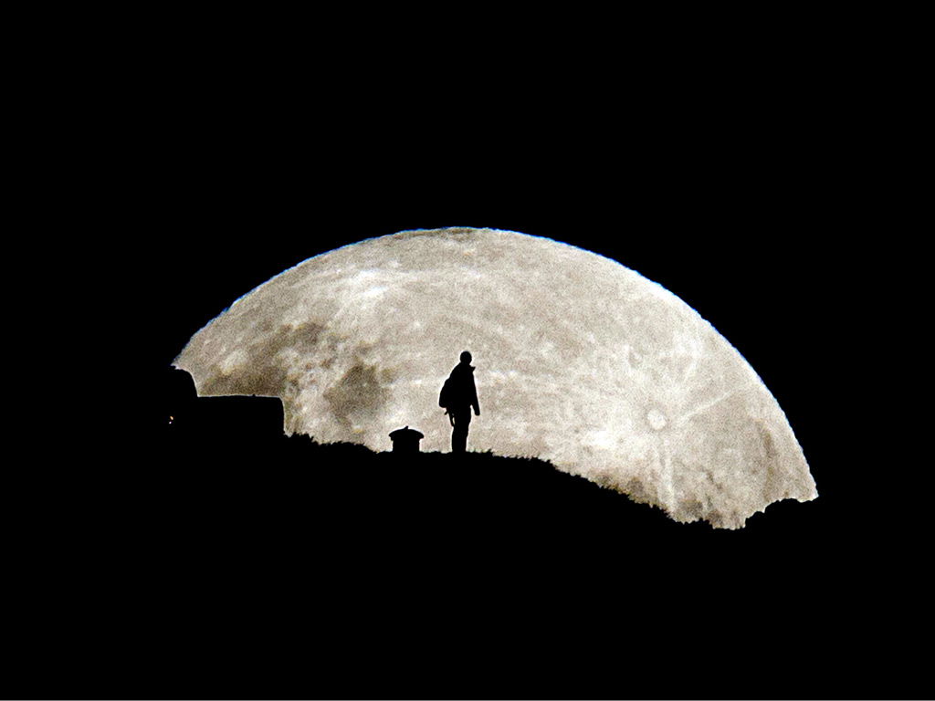 closest moon to earth - photo #34