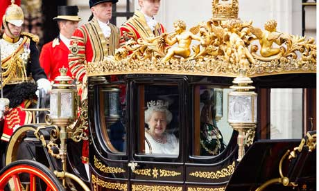 Queen Elizabeth attends The State Opening Of Parliament