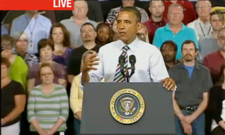 President Obama at Honeywell