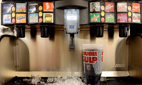 New York City to ban sale of large soda
