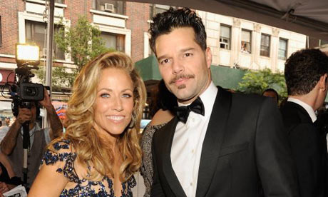 Sheryl Crow and Ricky Martin arrive for the 66th Annual Tony Awards a