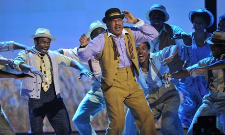 David Alan Grier and the cast of Porgy and Bess perform at the 66th Annual Tony Awards