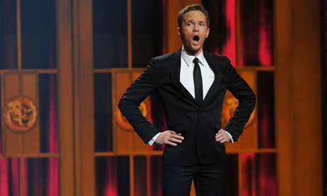 Neil Patrick Harris performs at the Tony awards