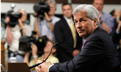 Jamie Dimon appears at Senate banking committtee hearing