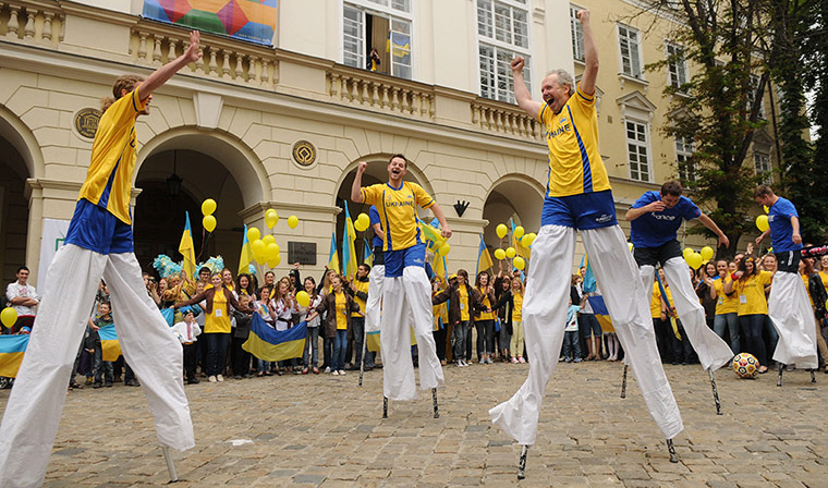 تغطـــــية مبـــــــــ EURO2012 ــــــاراة '' France V.s Ukraine