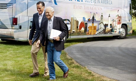 Mitt Romney and Bob Schieffer Face the Nation