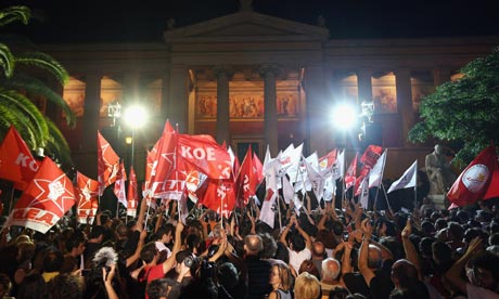 Debt Wracked Greece Elects Pro-Bailout Party