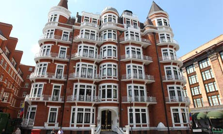 Ecuadorean embassy in London