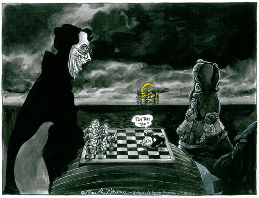 © Martin Rowson from Guardian @procartoonists.org