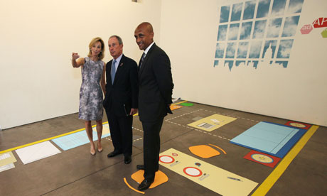 Mayor Michael Bloomberg plans to build 300 sq ft 'micro apartments', New York, America - 09 Jul 2012