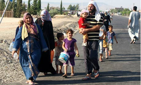 Syrian refugees in Kilis