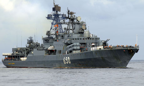 Russian Ship Off The 20