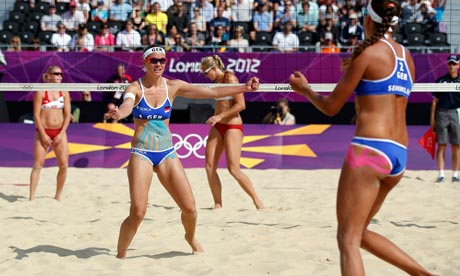 Beach volleyball: Katrin Holtwick and Ilka Semmler