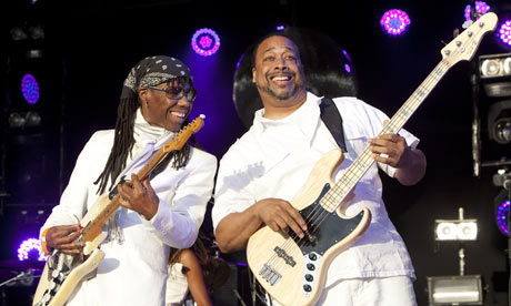 Nile Rogers of Chic performs at Camp Bestival