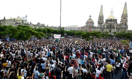 Mexico elections protest